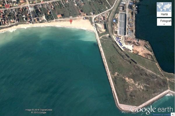 harta golf 2 Mai-satelit
